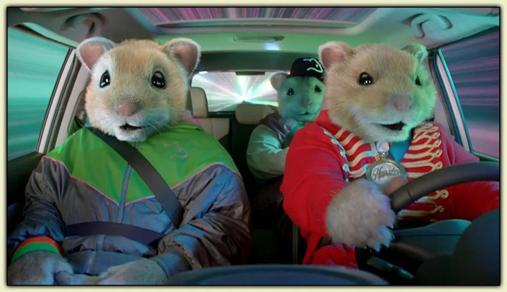 kia hamster ads Who knew hamsters could be so cocky take a look at the thuggish, ruggish rodents in this ad for the kia soul.